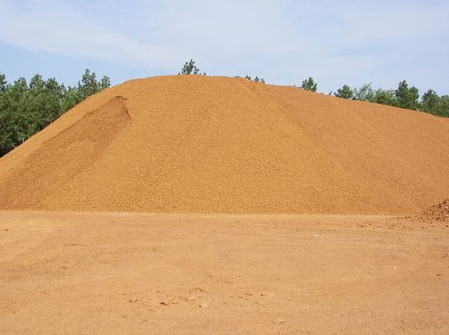 Washed Iron Ore used for roads, driveways and well sites