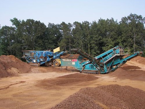 Iron Ore Pit and Crusher