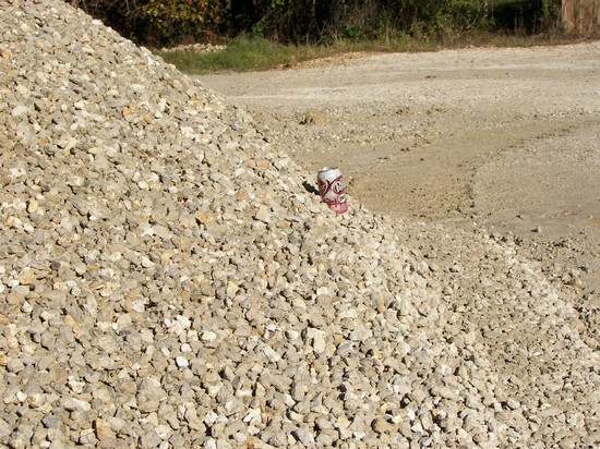 7/8'' Limestone used for roads, driveways and well sites