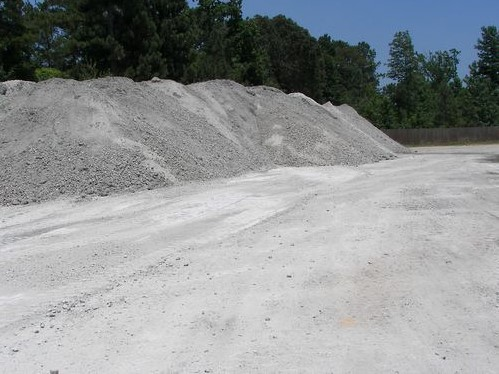 1 3/4'' Limestone used for roads, driveways and well sites
