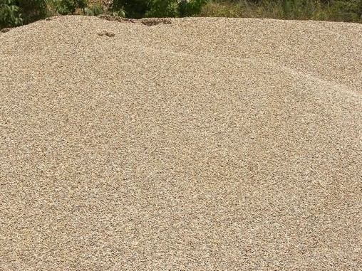 Pea Gravel is used for landscaping, playgrounds and on well locations
