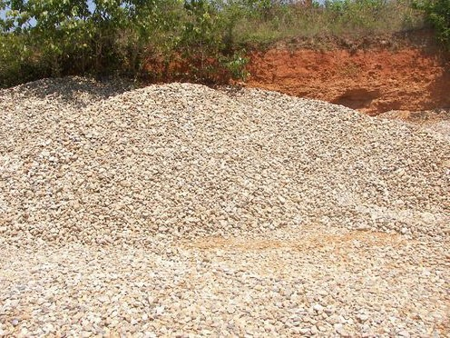 1 1/2'' - 2 1/2'' River Rock is used for drain rock and landscaping