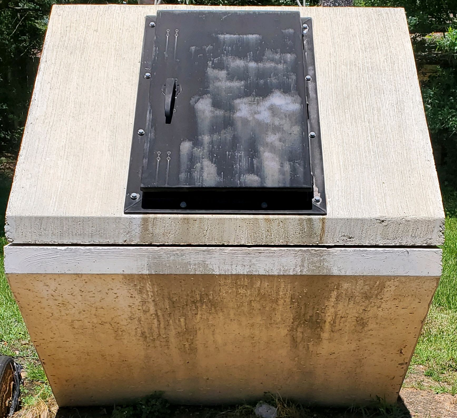 Storm Shelter front view
