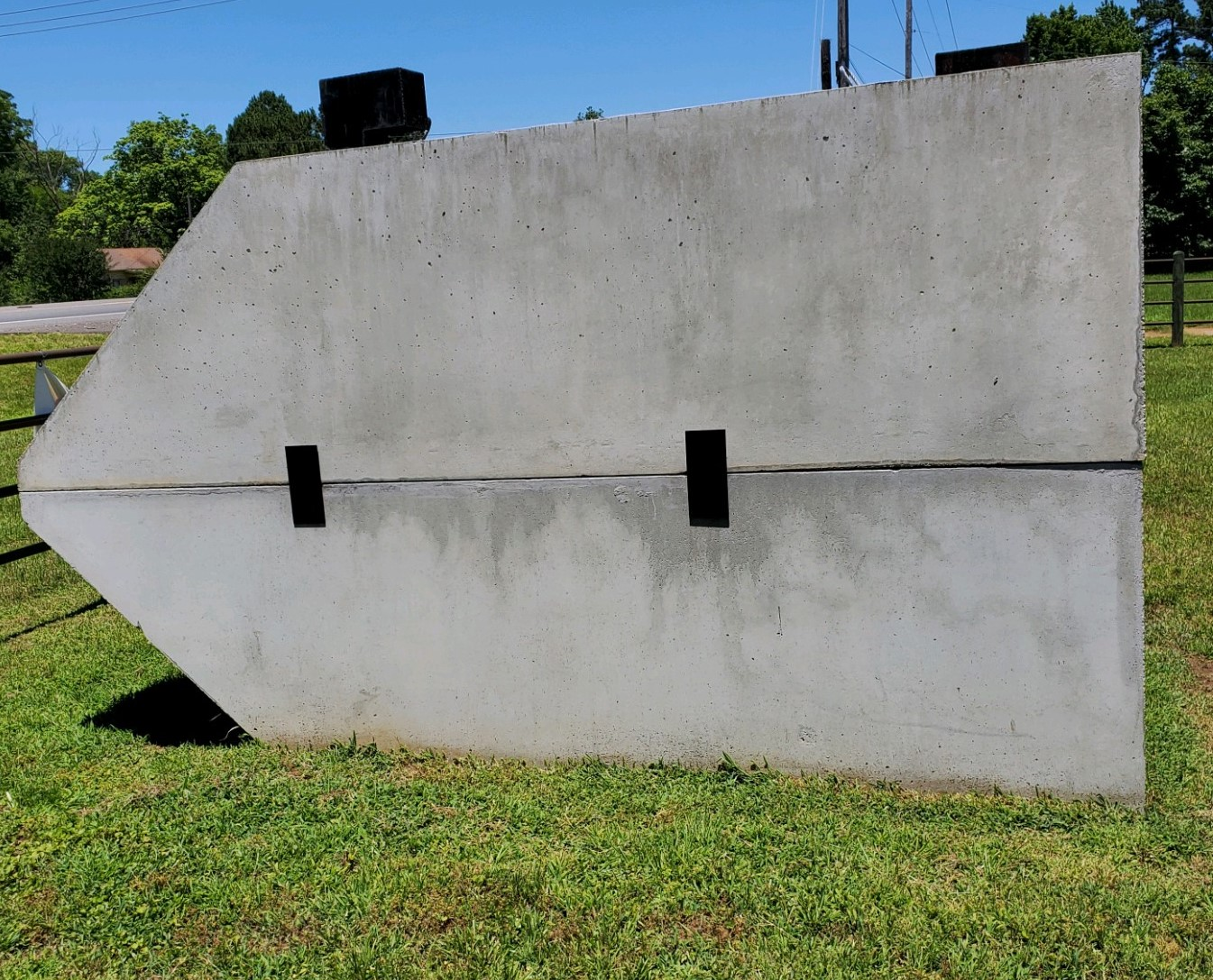 Storm Shelter side view